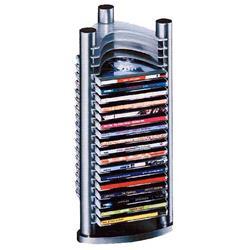 ARCHIVADOR CDS 40 UNID.CERRADURA Y TAPA TRANSP.