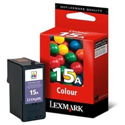CARTUCHO LEXMARK N.15 COLOR ORIGINAL