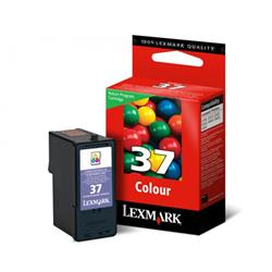 CARTUCHO LEXMARK N.37 COLOR ORIGINAL