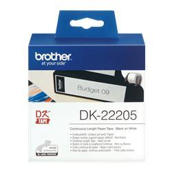 ETIQUETA BROTHER 62x30,48 mm