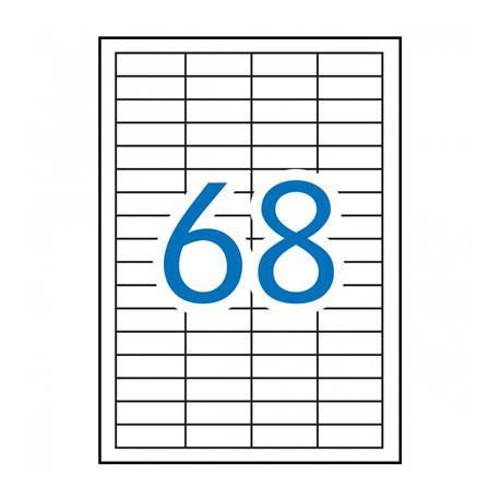 ETIQUETA DIN A4 48,5 X 16,9 (500 HOJAS)