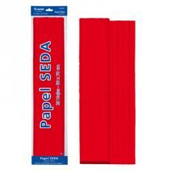 ROLLO PAPEL SEDA 50x65 ROJO (25 HOJAS)