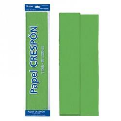 ROLLO PAPEL CRESPON 0,50x2,5 m VERDE