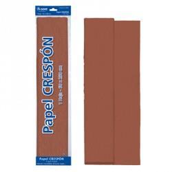 ROLLO PAPEL CRESPON 0,50x2,5 m MARRON