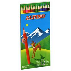 ESTUCHE LAPICES ALPINO 12 unid.