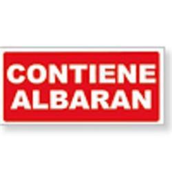 ETIQUETA ENVIO ROLLO 50x100 CONTIENE ALBARAN