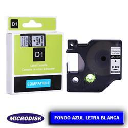 CINTA DYMO 1000 12mm x 7m. F.A./ L.B.