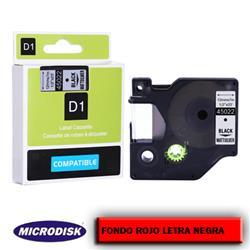 CINTA DYMO 1000 12mm x 7m. F.R./ L.N.