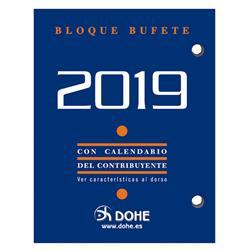 TACO CALENDARIO SOBREMESA 2019