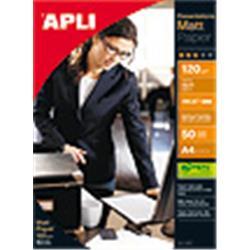 PAPEL APLI DIN A4 DE 120 grs.MATT PAPER 100 hojas