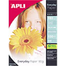 PAPEL APLI DIN A4 DE 180 grs.GLOSSY PAPER 60 hojas
