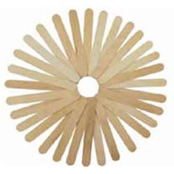PALOS DE MADERA NATURAL ANCHOS 15 cm (50 unid)