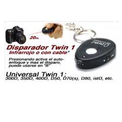 DISPARADOR REMOTO AP FLASH INFRAROJOS TWIN1