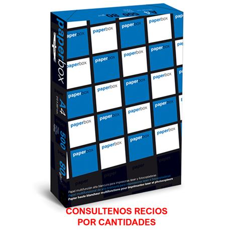 PAPEL FOTOCOPIA DIN A4, 80 gr PAPERBOX
