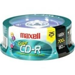 CD MAXELL VIRGEN 80 minutos (PACK 25 CDS)