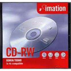 CD-RW 3M REGRABABLE 80 min.