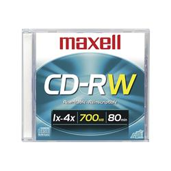 CD-RW MAXELL REGRABABLE 80 min.