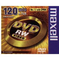 DVD+RW MAXELL 4,7 GB. CAJA INDIVIDUAL