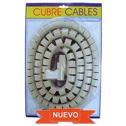 ROLLO 2 METROS ENROLLA CABLES ORGANIZADOR