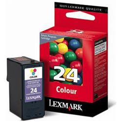 CARTUCHO LEXMARK N.24 COLOR ORIGINAL