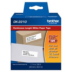 ETIQUETA BROTHER 29x30,48 mm