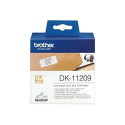 ETIQUETA BROTHER 29x62 mm (800 unid.)