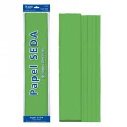 ROLLO PAPEL SEDA 50x65 VERDE (25 HOJAS)