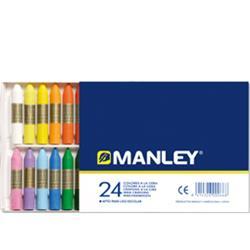 CERA MANLEY ESTUCHE 24 UNID.