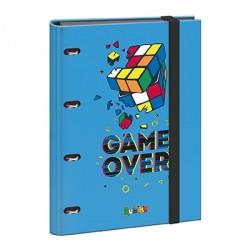CARPETA 4 ANILLAS FOLIO GOMA Y RECAMBIO GAME OVER