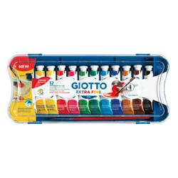 TEMPERA GIOTTO SET 12 TUBOS 12 ml.