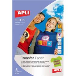 PAPEL TRANSFER DIN A-4 CAMISAS OSCURAS