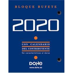 TACO CALENDARIO SOBREMESA 2020