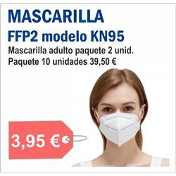 MASCARILLA FFP2 MODELO KN95 ( 10 unid )