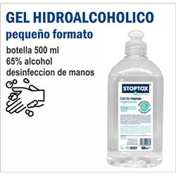 BOTELLA HIDROALCOHOL 500 ml