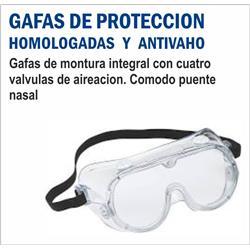 GAFAS DE PROTECCION ANTIVAHO