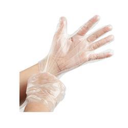 GUANTES DESECHABLES TRANSPARENTES (100 unid)