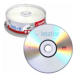 DVD+RW IMATION 4,7 Gb. TARRINA 25 UNID