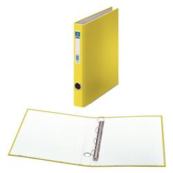 CARPETA 4 ANILLAS FOLIO AMARILLO L/E