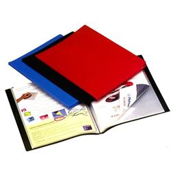 CARPETA FOLIO 10 FUNDAS TAPA FLEXIBLE