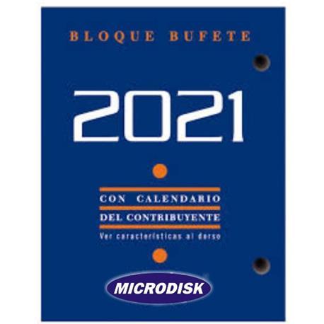TACO CALENDARIO SOBREMESA 2021