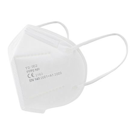 MASCARILLA FFP2 MODELO CEE ( 5 unid ) BLANCAS