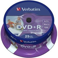 DVD+R MAXELL/VERBATIM 4,7 GB TARRINA 25 UNID.