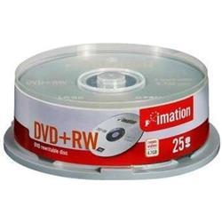 DVD+RW IMATION 4,7 Gb. TARRINA 25 UNID