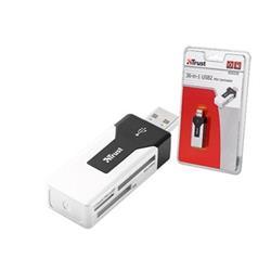 LECTOR DE TARJETAS EXTERNO MINI TRUST USB