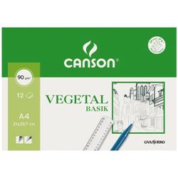 PAPEL VEGETAL DIN A4 CANSON 12 hojas