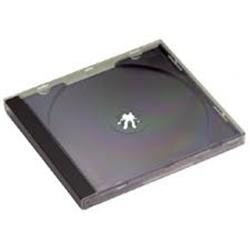 ARCHIVADOR CDS 1 UNID. PLASTICO RIGIDO